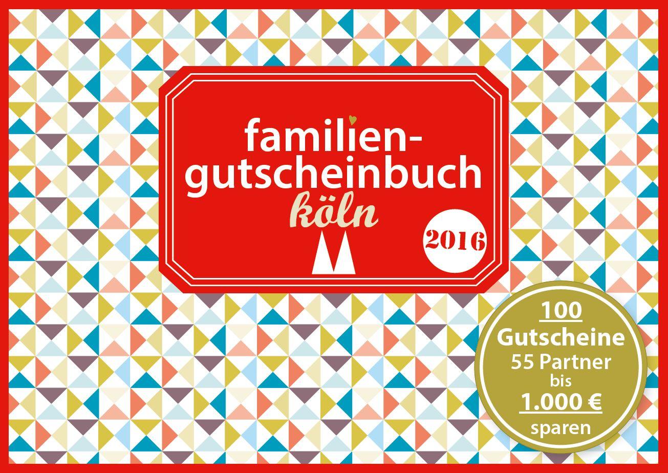 Cover Famiiengutscheinbuch Köln