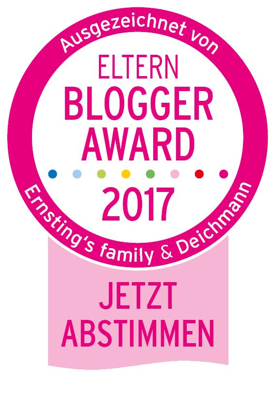Ernsting's family Eltern-Blogger-Award 2017