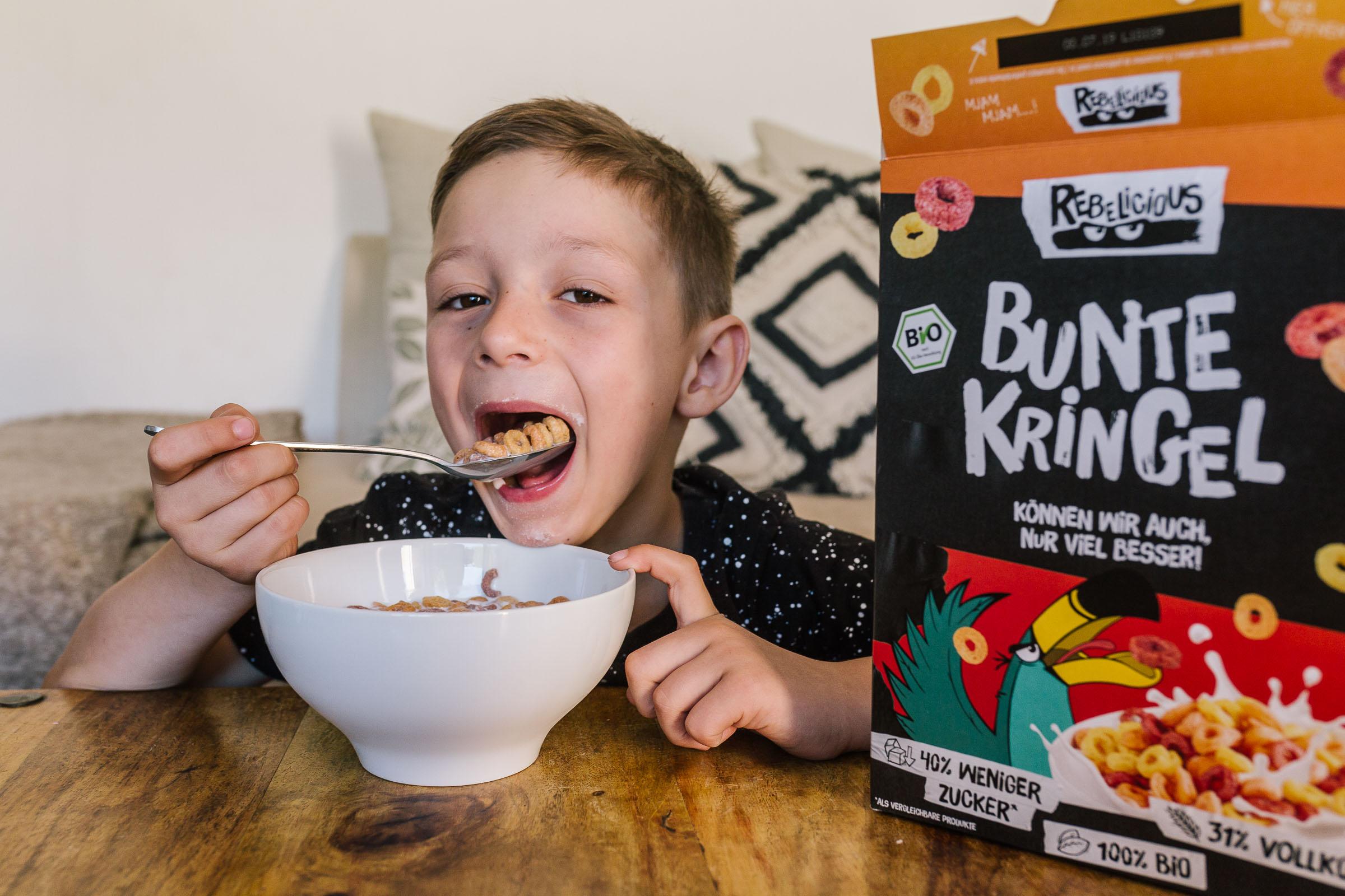 Frühstücks-Cerealien von Rebelicious