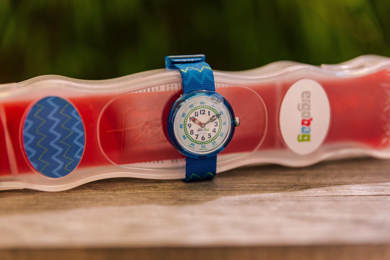 Für Frühaufsteher und Schulkinder to be – die neuen ergobag Flik Flak Uhren!